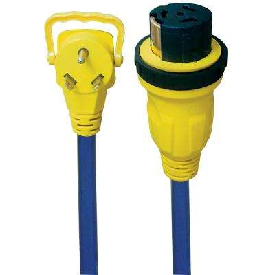 30A-50A E-Zee Grip Locking Extension Cord - 2'