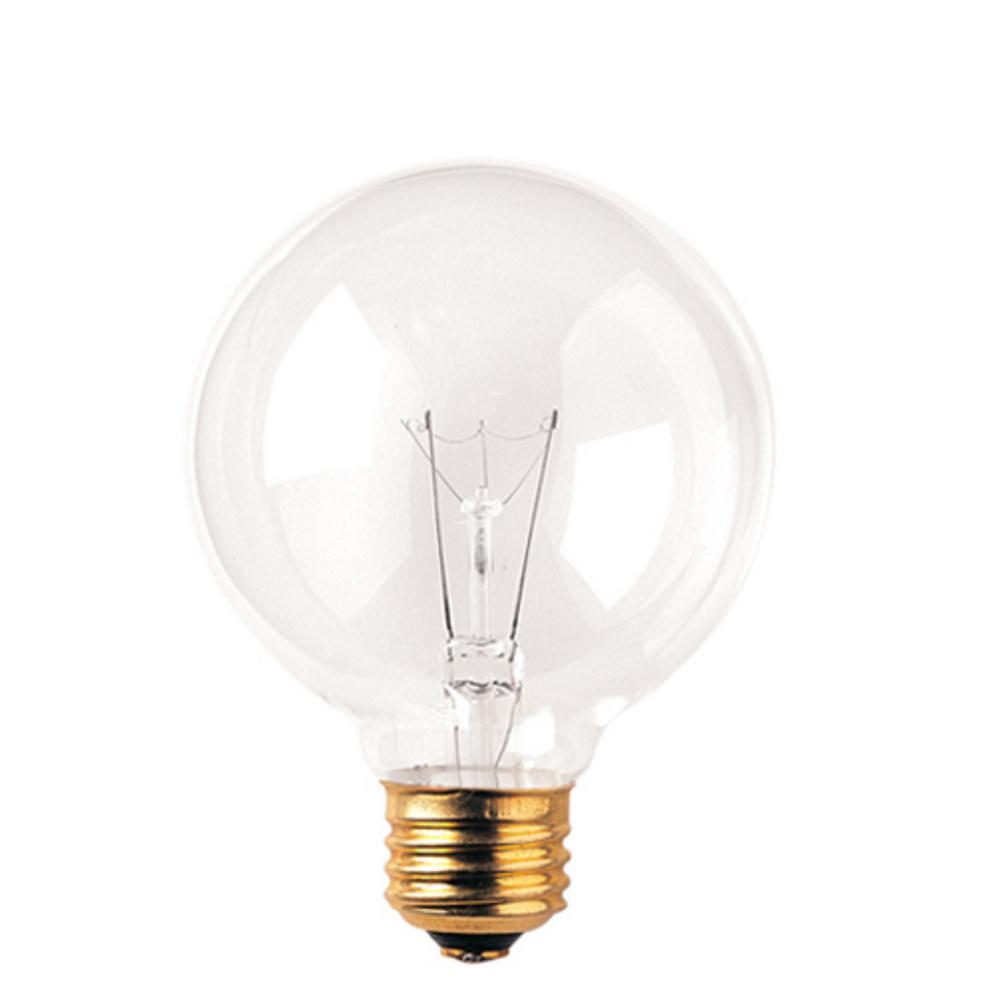 40-Watt G25 Clear Dimmable Warm White Light Incandescent Light Bulb (24-Pack)