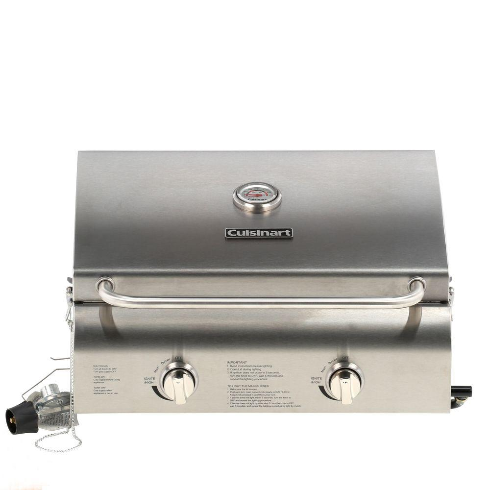 Portable Gas Grill And Griddle ~ Cuisinart burner professional portable propane gas grill