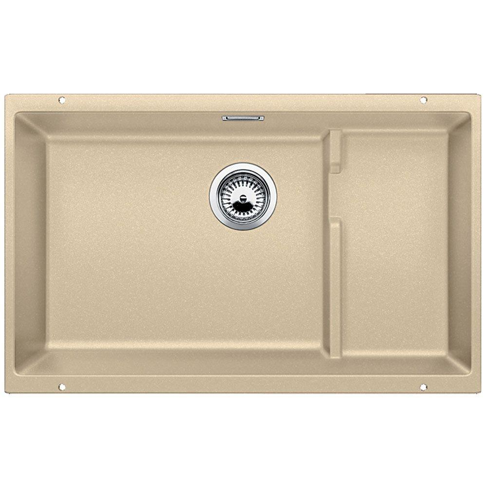 kitchen sink blanco blanco precis cascade undermount granite composite 29 in 2584