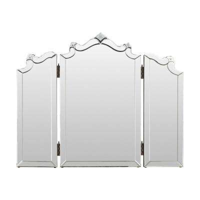 Delanie 21 in. x 35 in. Classic Framed Mirror