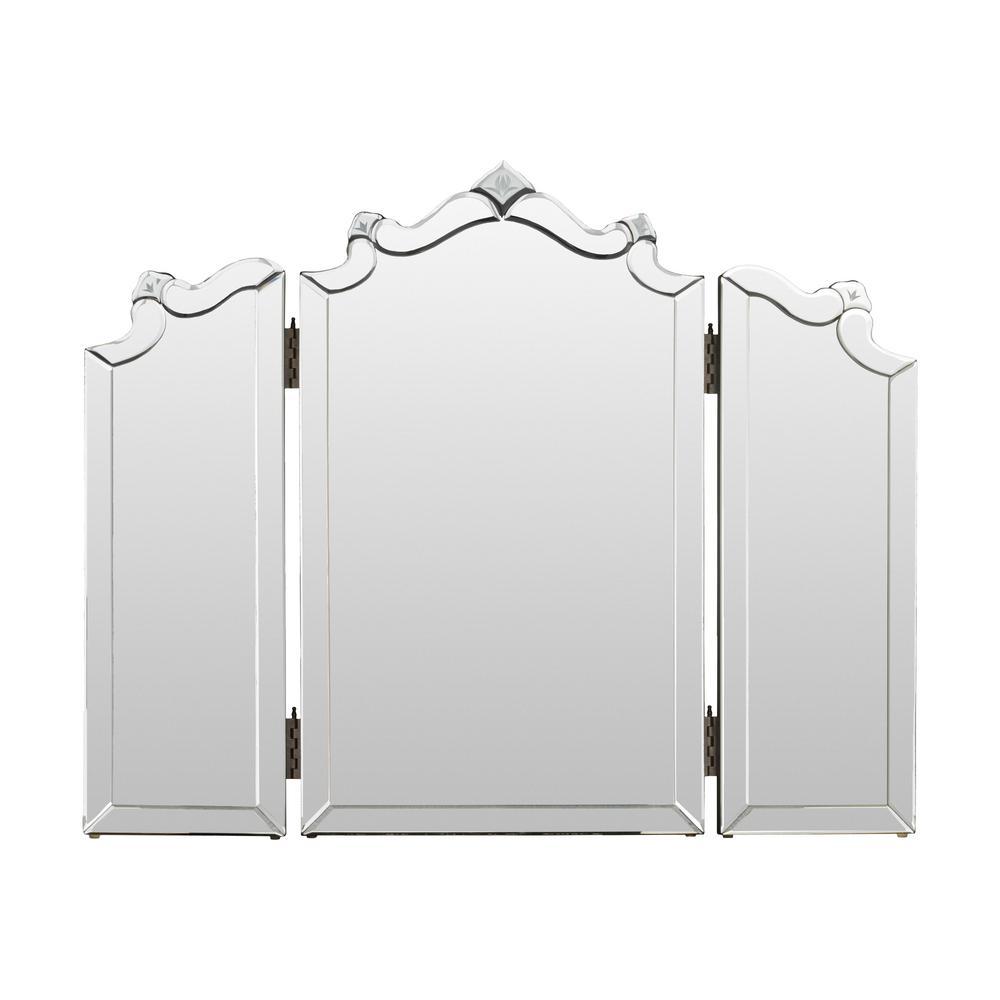 Delanie 21 in. x 35 in. Classic Framed Mirror