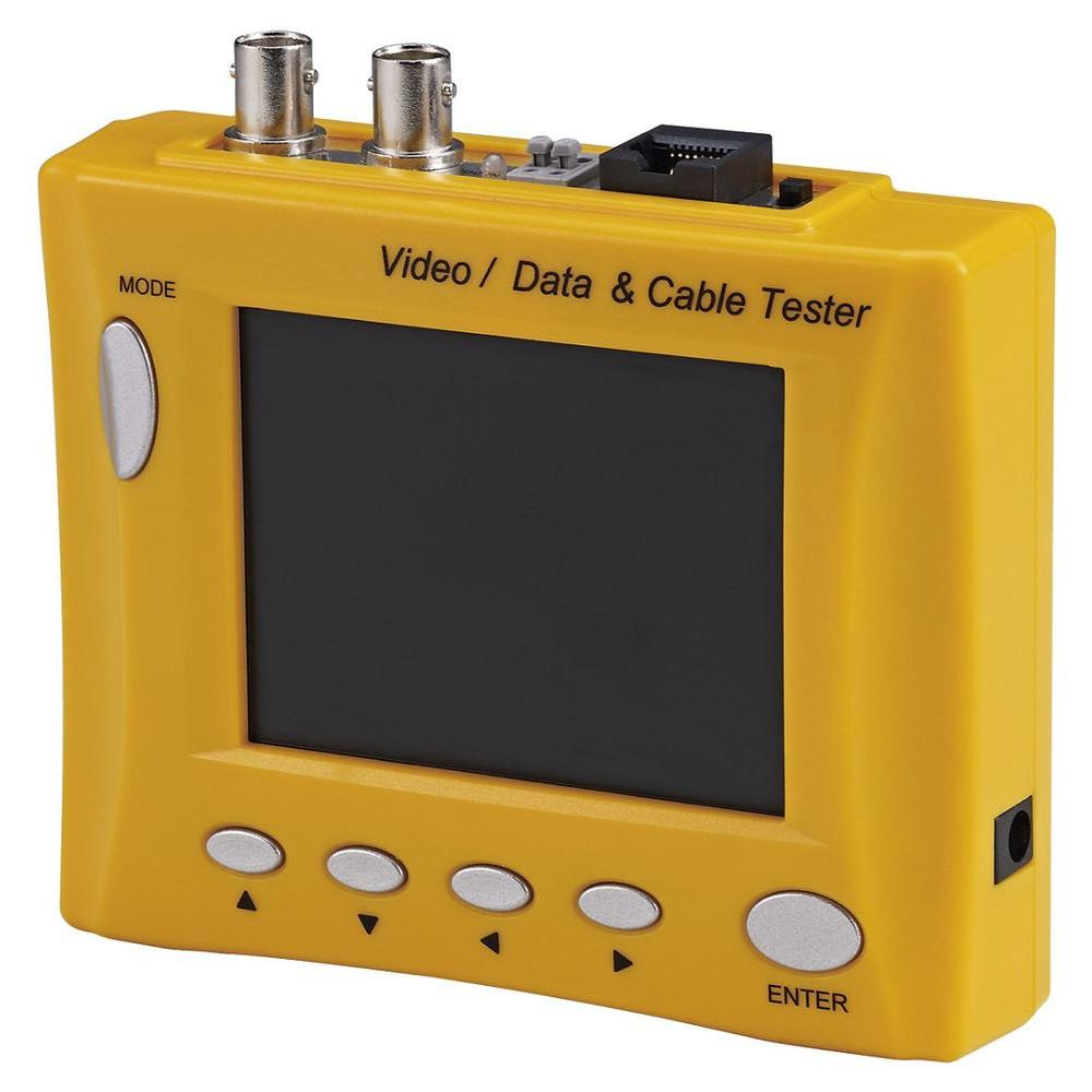 Multi-Functional Cctv Tester with 3.5 in. LCD Monitor and...