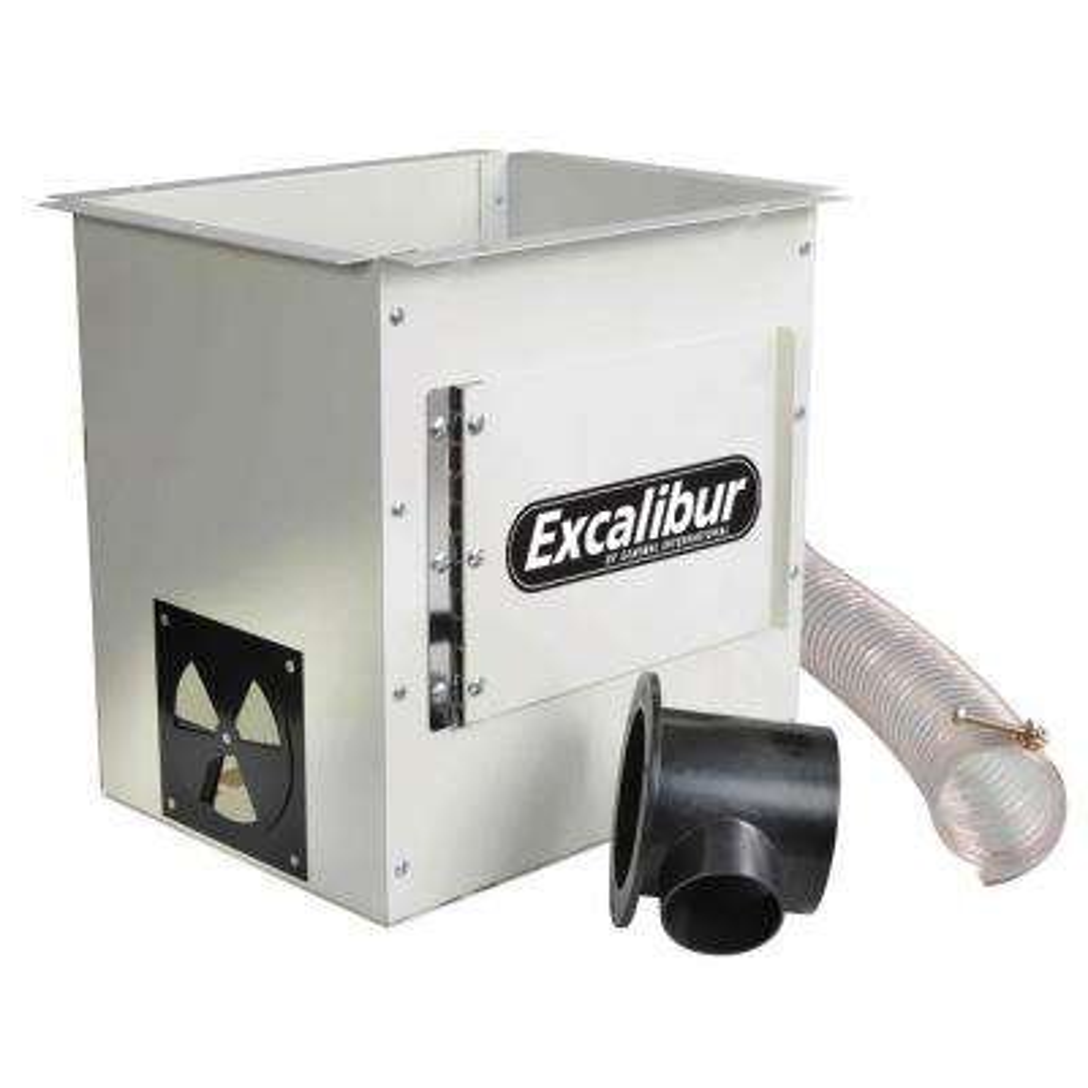Under-Table Router Dust Enclosure