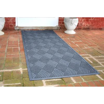 Aqua Shield Diamonds 3 ft. x 8 ft. Runner Bluestone