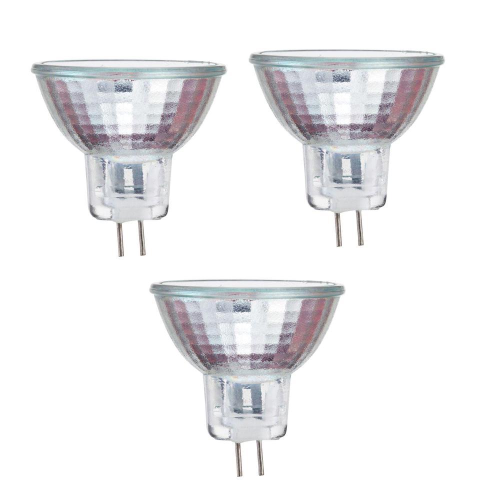20-Watt MR16 Halogen 12-Volt Spot Dimmable Light Bulb (3-Pack)