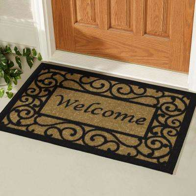monogrammed mats door personalized front monogram doormat bed size large of bath and beyond mat medium