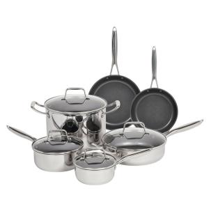 MAKER Homeware 10 Piece Stainless Steel Cookware Set by MAKER Homeware