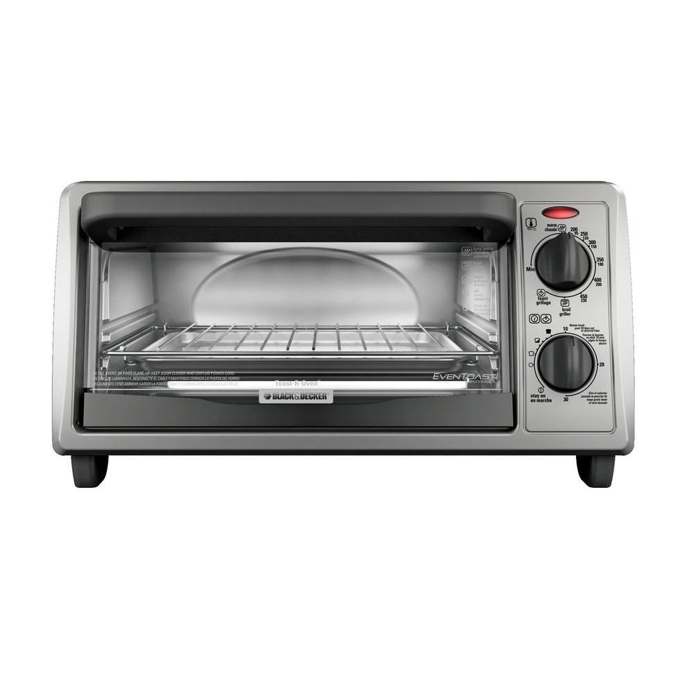 BLACK+DECKER 4-Slice Toaster Oven EvenToast Technology-DISCONTINUED
