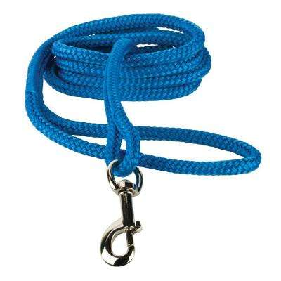 3/8 in. x 6 ft. Blue Small to Medium Dog Leash