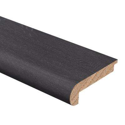 Wire Brushed Oak Teaberry 3/8 in. Thick x 2-3/4 in. Wide x 94 in. Length Hardwood Stair Nose Molding