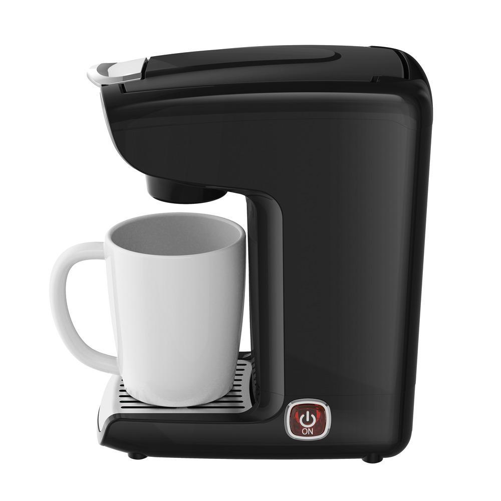1.25-Cup Black K-Cup Single Serve Coffee Maker
