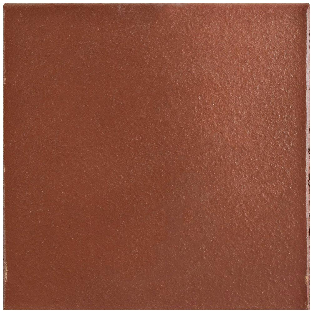 Merola tile klinker flame red 5 78 in x 5 78 in ceramic merola tile klinker flame red 5 78 in x 5 78 in ceramic bullnose floor and wall quarry tile fga6kfre the home depot dailygadgetfo Gallery