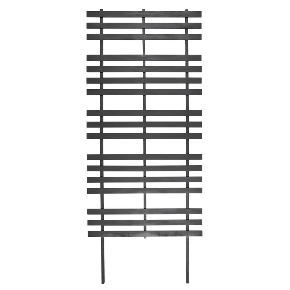 72 in. Wood Modern Ladder Trellis
