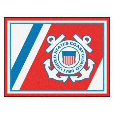 U.S. Coast Guard Ultra Plush 8 ft. x 10 ft. Area Rug