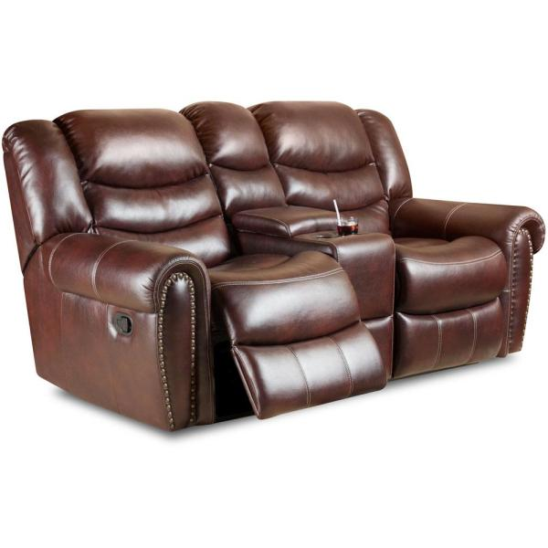 Astonishing Lancaster Double Reclining Loveseat Pabps2019 Chair Design Images Pabps2019Com