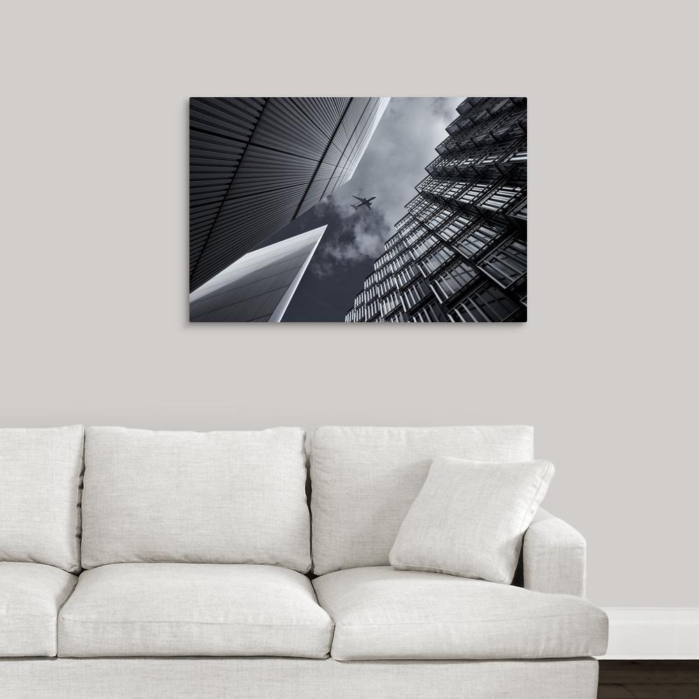 """Skyway"" by Michael Oates Canvas Wall Art"
