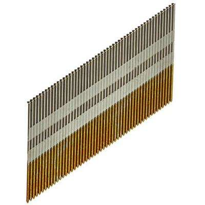8d 2-1/2 in. Tape Collation DA-Style Angle 15-Gauge Finishing Nail (500-Pack)