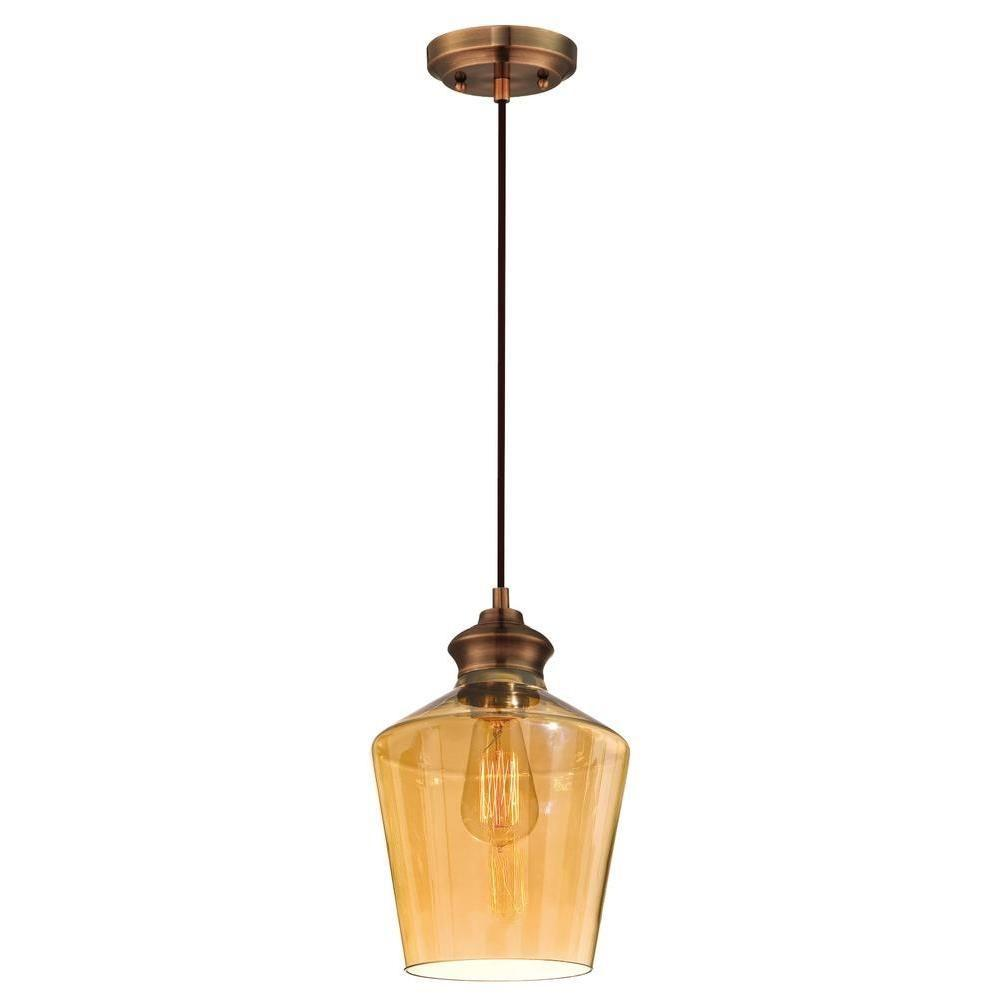 copper mini pendant light. Westinghouse Copper Adjustable Vintage Mini Pendant Light