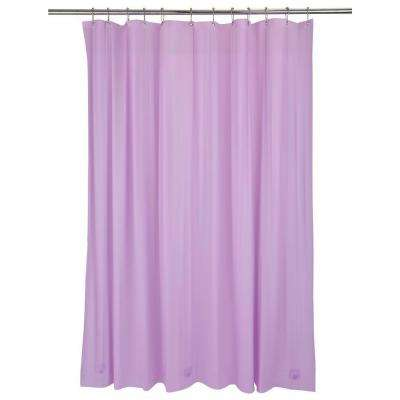 Heavy Grommet Shower Liner in Lilac