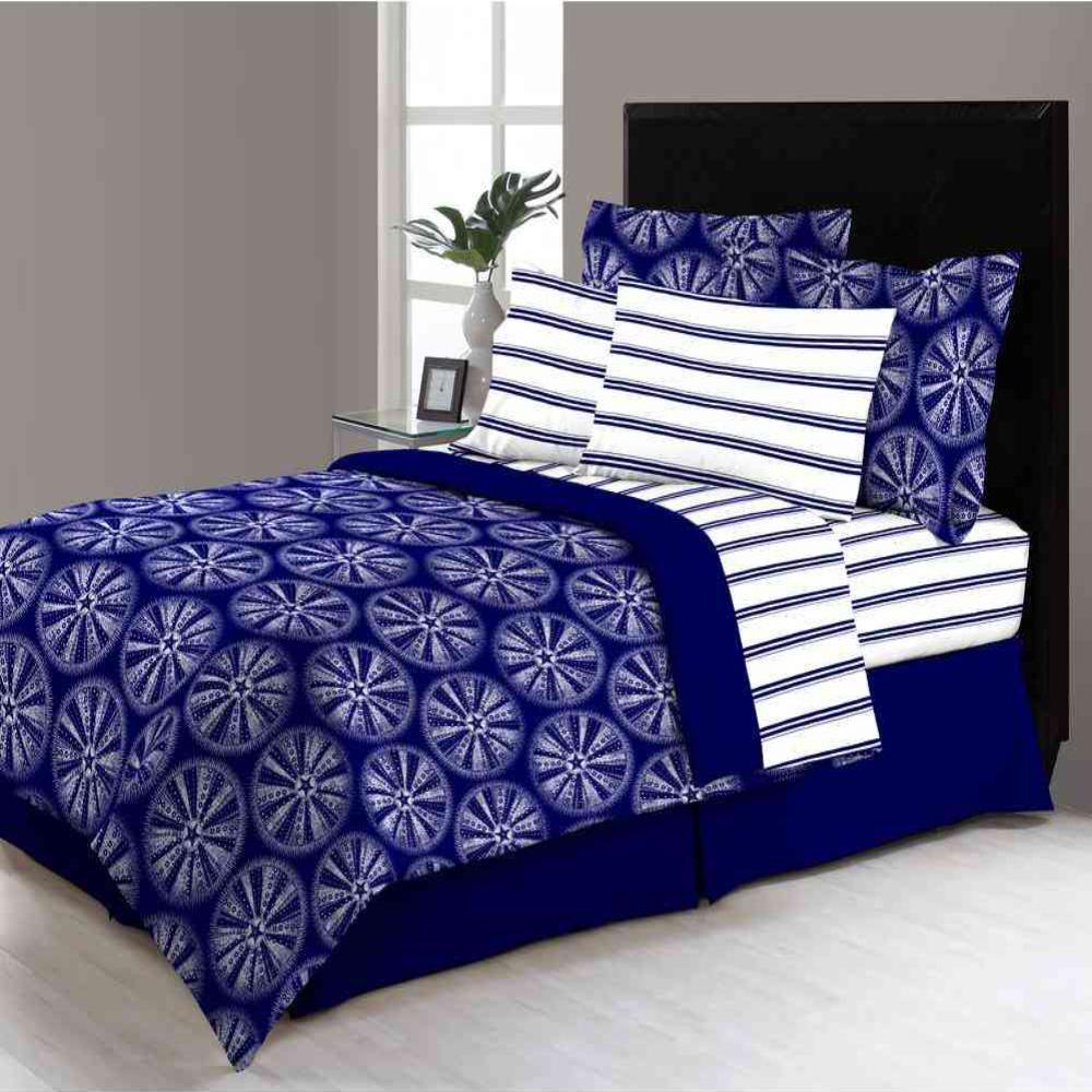 Delray 8-Piece Queen Bed in a Bag Comforter Set M561634