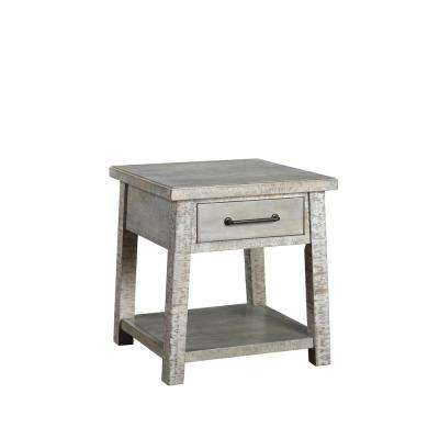 Courchevel Driftwood End Table