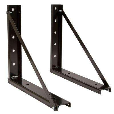18 in. Underbody Tool Box Bolted Bracket Kit