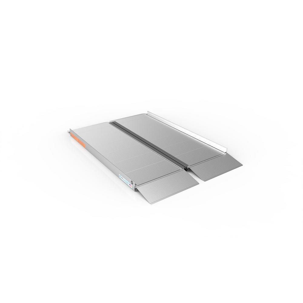 SUITCASE 4 ft. Singlefold Portable Aluminum Ramp