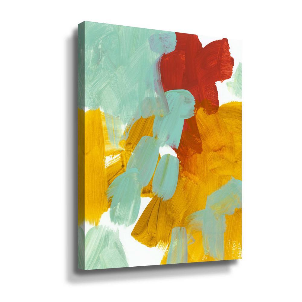 'Alla Prima 1' by  Iris Lehnhardt Canvas Wall Art