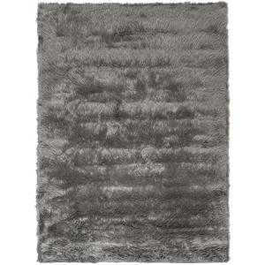 Faux Sheep Skin Gray 4 ft. x 6 ft. Area Rug