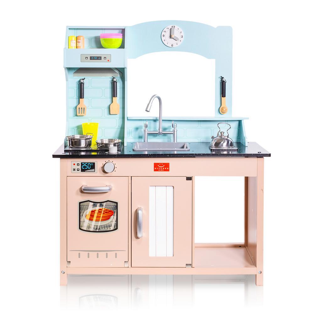 Kidkraft Red Vintage Kitchen Playset 53173 The Home Depot