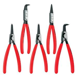 KNIPEX Snap Ring Pliers Set in Tool Roll (4-Piece) by KNIPEX