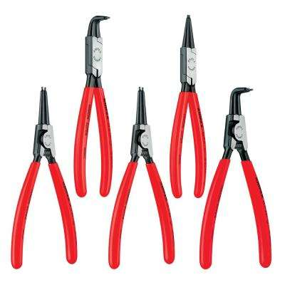Snap Ring Pliers Set in Tool Roll (4-Piece)