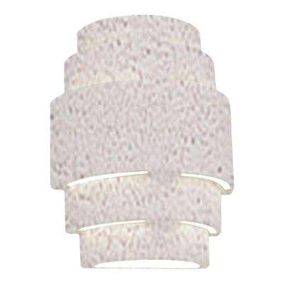 Incandescent 1 ul listed outdoor lighting lighting the home clifton outdoor textured bisque ceramic wall sconce aloadofball Image collections