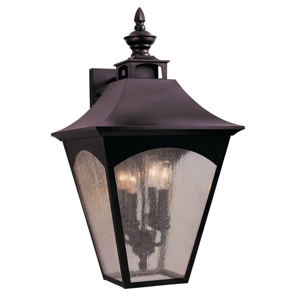 Feiss Homestead 4-Light Oil-Rubbed Bronze Outdoor Wall Lantern