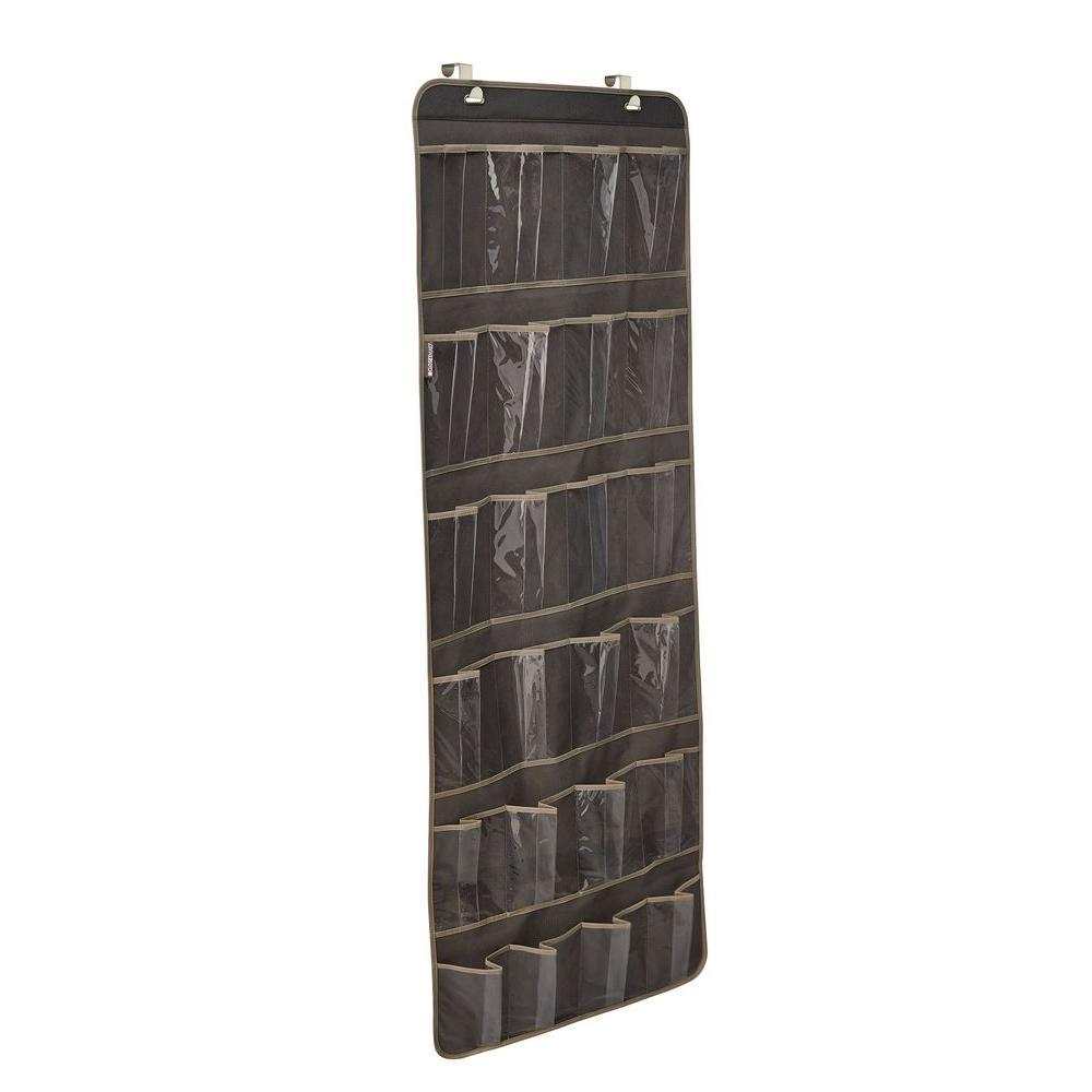 ClosetMaid 24-Pocket Over-the-Door Shoe Organizer in Gray by ClosetMaid