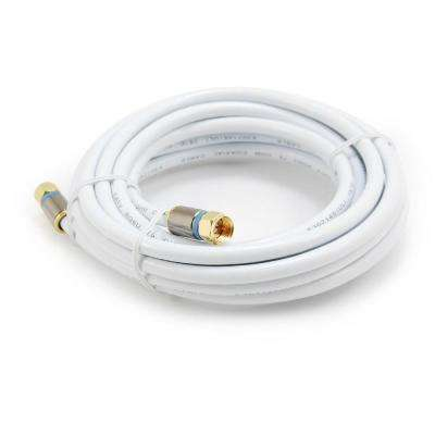15 ft. RG-6 Coaxial Cable - White