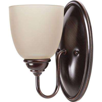 Lemont 1-Light Burnt Sienna Sconce
