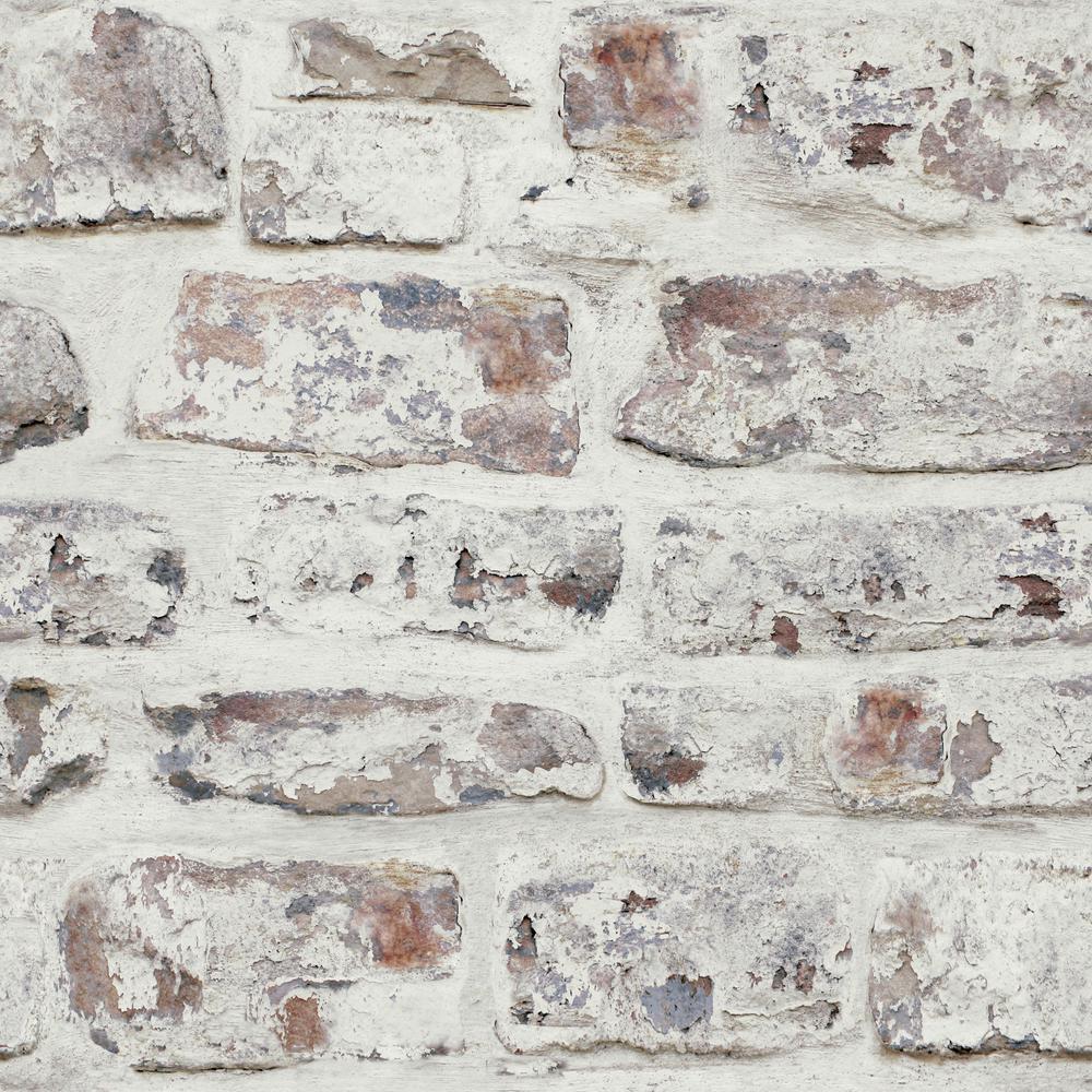 White Brick Wallpaper by Arthouse 623004