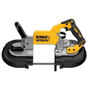 Click here to buy Dewalt 20-Volt MAX Lithium-Ion Cordless Brushless Deep Cut Band Saw (Tool-Only) by DEWALT.