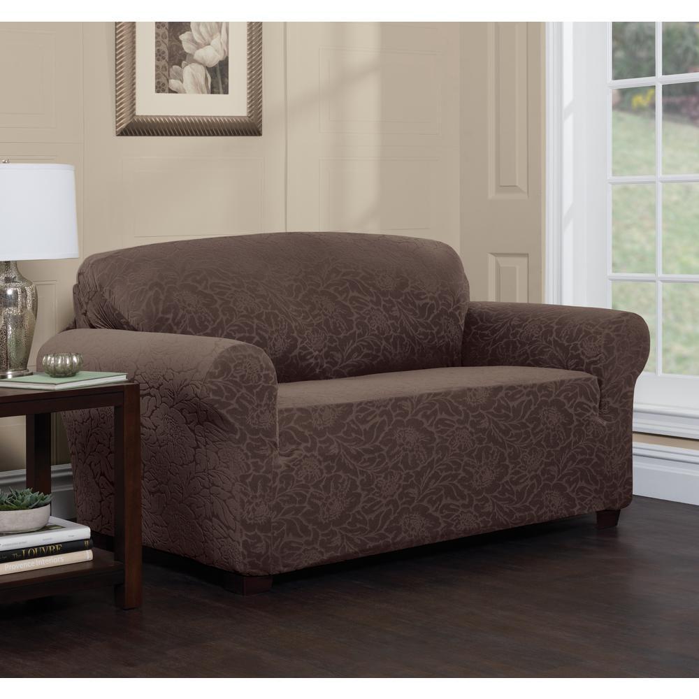 Stretch Sensations Stretch Floral Sofa Slipcover