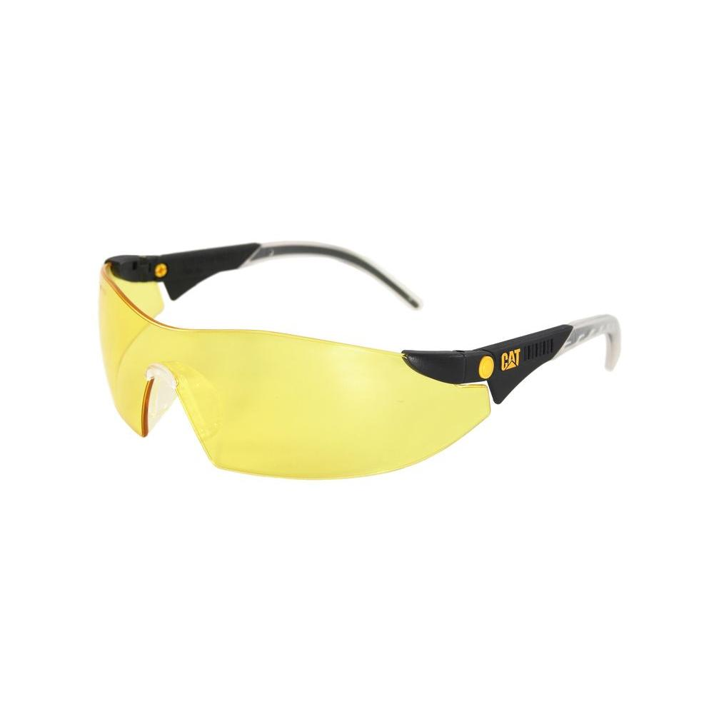4c8540023cc CAT Safety Glasses Dozer Yellow Lens with Case-DOZER-112 - The Home ...