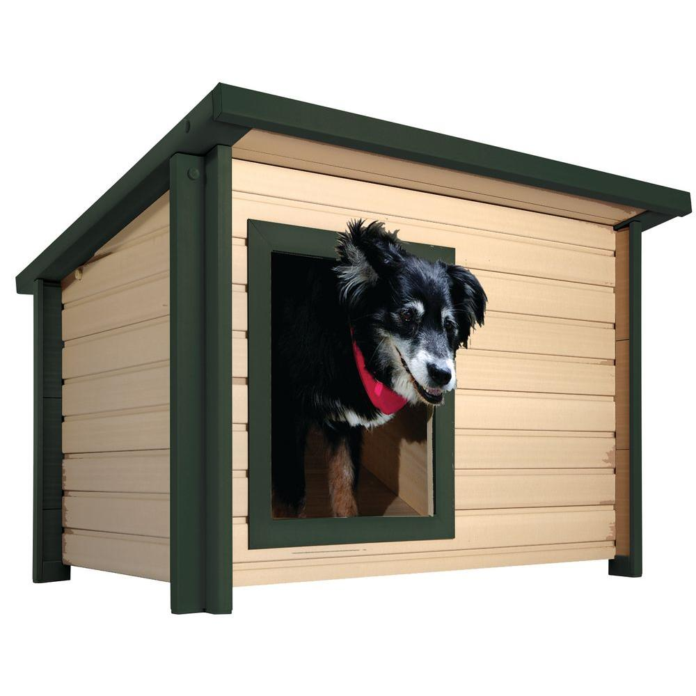 EcoFLEX Rustic Lodge Medium Dog House