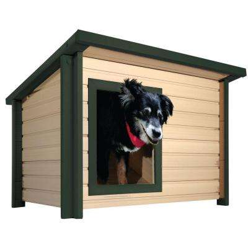 EcoFLEX Rustic Lodge Medium Dog House