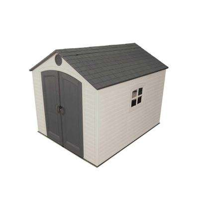 8 ft. x 10 ft. Outdoor Storage Shed