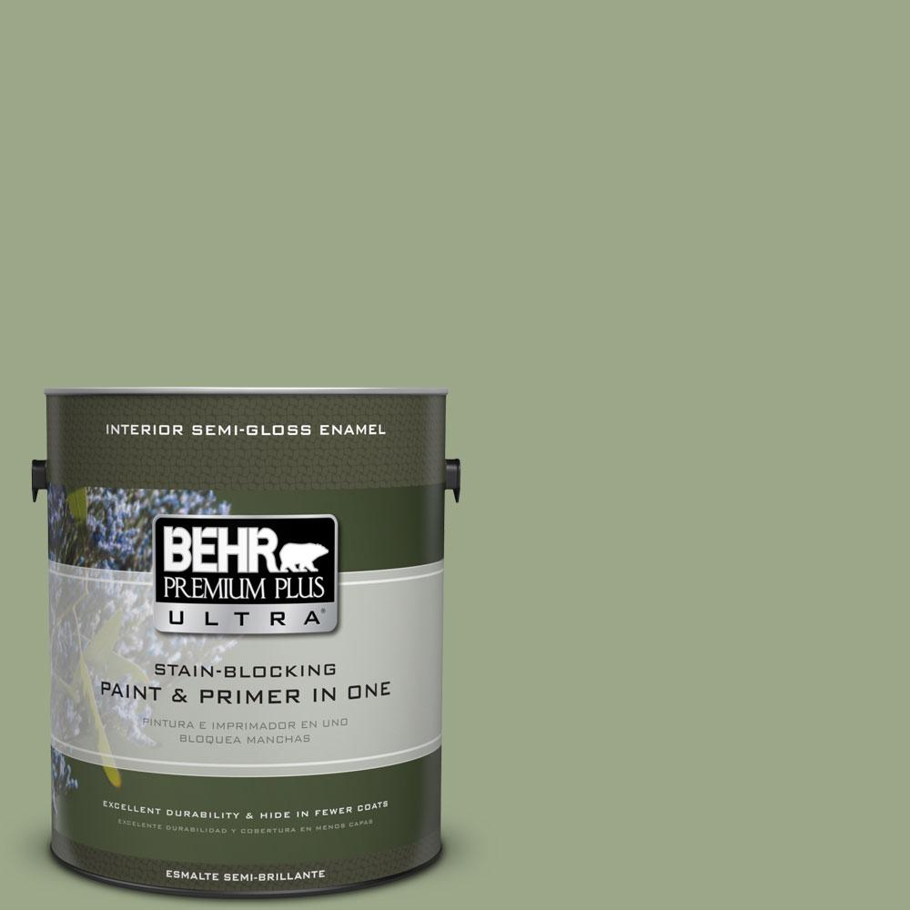BEHR Premium Plus Ultra 1 gal   PPU11 7 Clary Sage Semi Gloss. BEHR Premium Plus Ultra 1 gal   PPU11 7 Clary Sage Semi Gloss