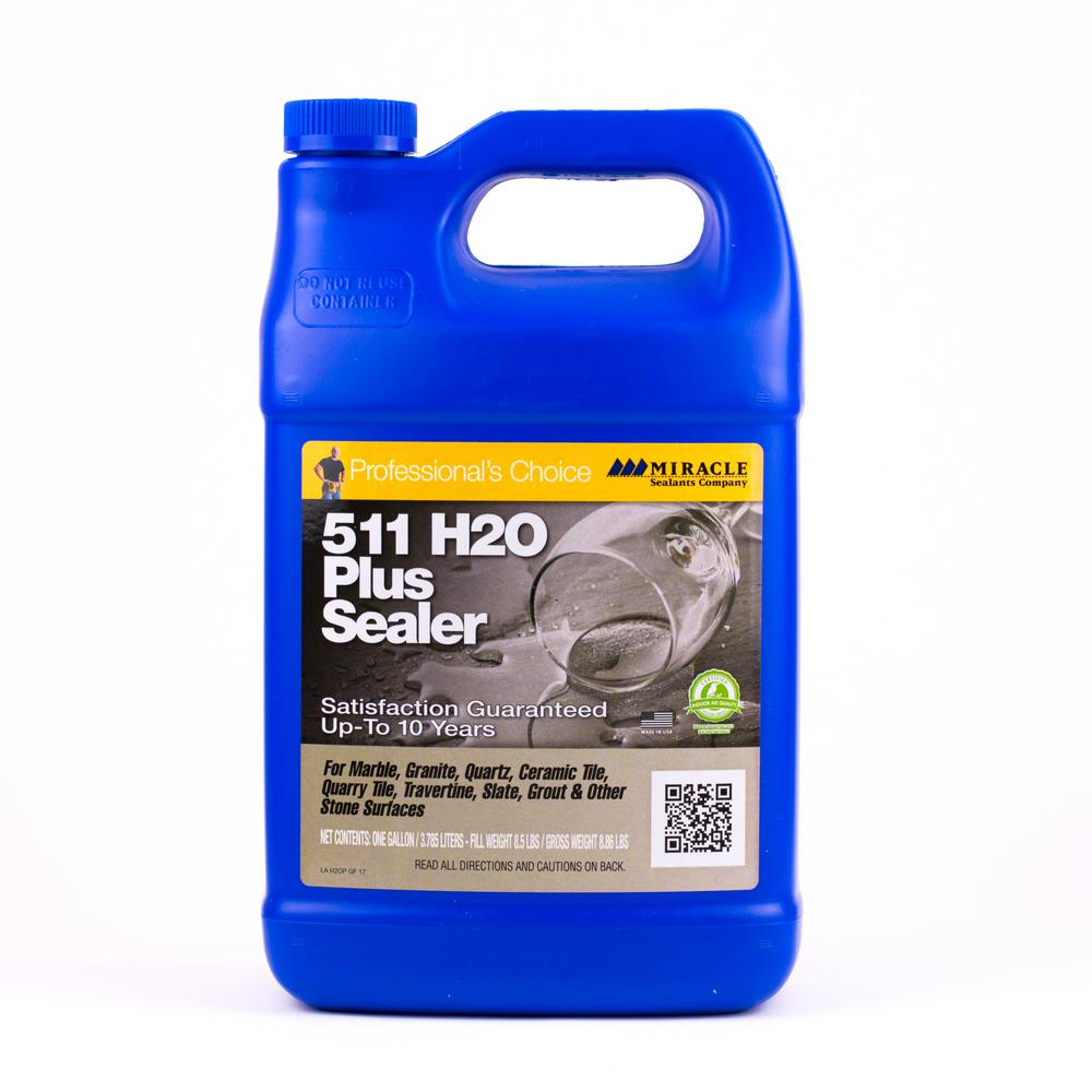 Miracle Sealants 128 oz. 511 H20+ Water-Base Sealer