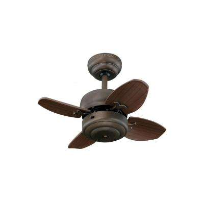 Mini 20 in. Roman Bronze Ceiling Fan