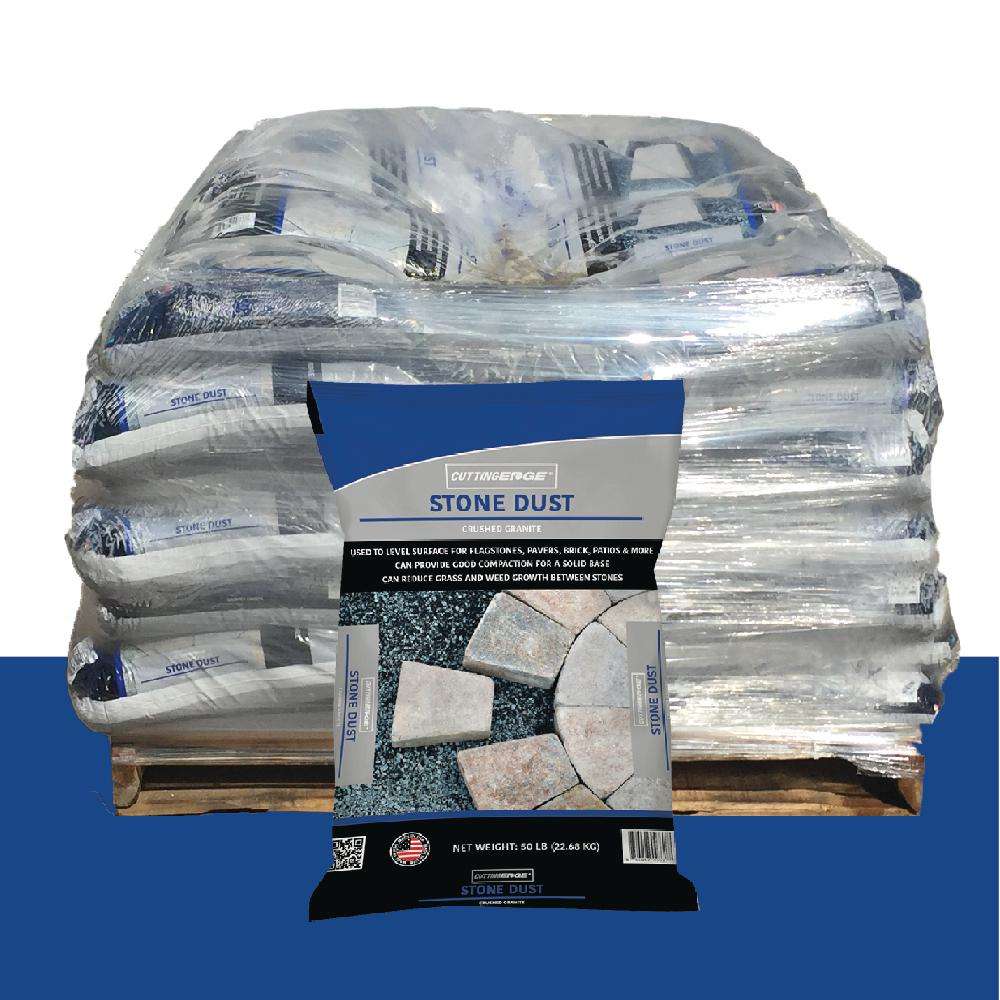 Cutting Edge 50 lb. Stone Dust - Crushed Granite - Pallet (49 Bags)