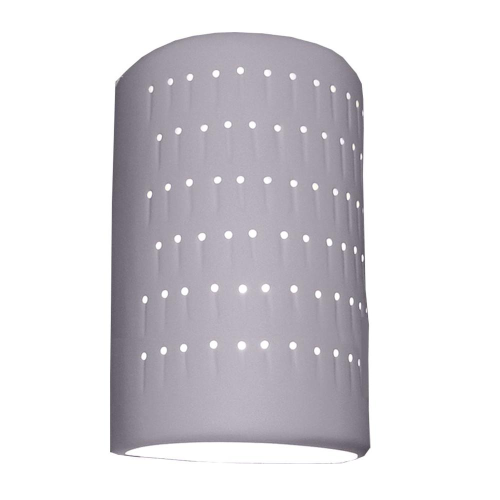 Filament Design Franklin 2-Light Bisque Grey Ceramic Outdoor Wall Lantern  Sconce